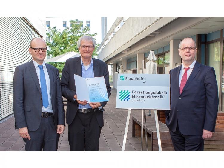 Un investissement de 16 millions d'euros pour le centre Fraunhofer de Fribourg dans le cadre de l'enveloppe pour la recherche en microélectronique