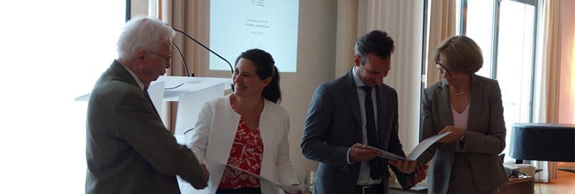 la cérémonie de remise du Prix « Forcheur Jean-Marie Lehn »2020 se déroulera le 29 Septembre à l'Ambassade de France à Berlin