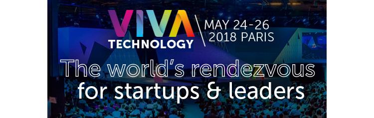 L'#UFA au salon « #VivaTech » à Paris (du 24 au 26 mai 2018)