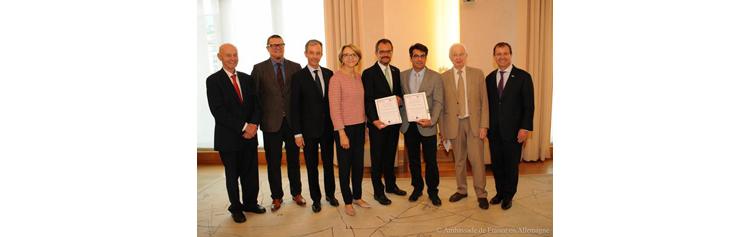 Le Prix Forcheurs Jean-Marie Lehn 2018 récompense les chimistes Benjamin Dietzek et Vincent Artero