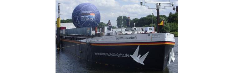 """"""" #MSWissenschaft """", navire d'exposition : « Voyage dans le monde du #travail du futur »"""