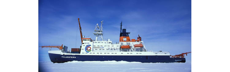 Le lancement de l'expédition internationale MOSAiC avec le bateau de recherche allemand Polarstern est prévu à l'automne 2019