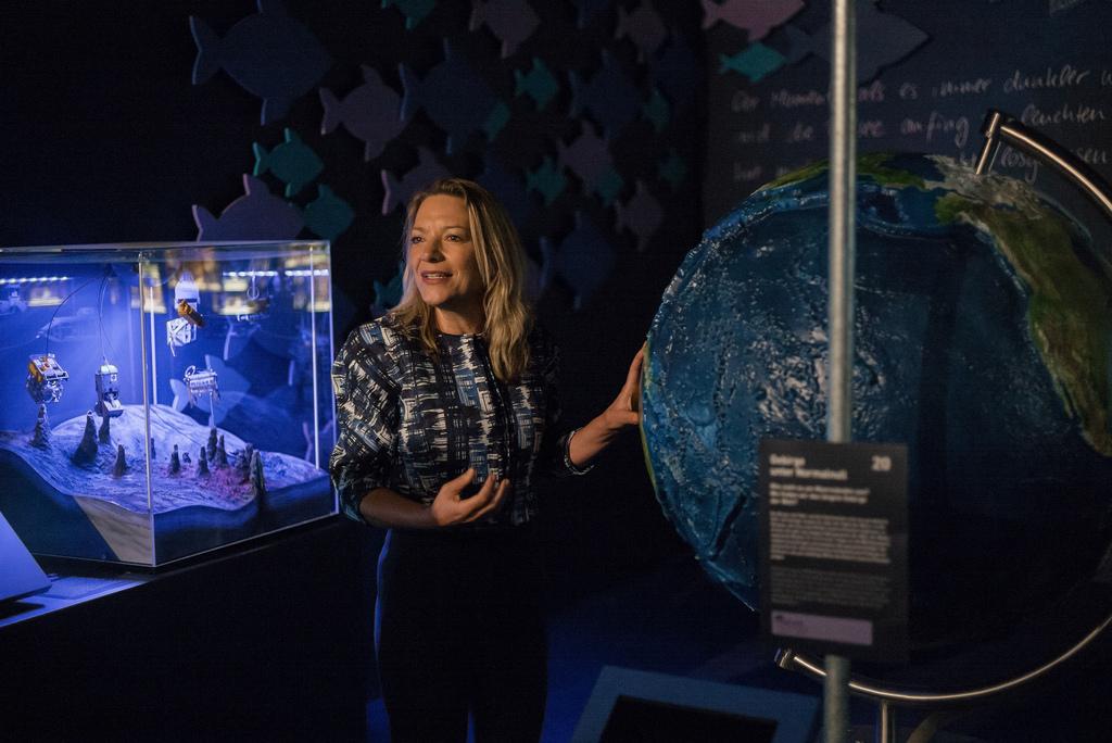 Le prix allemand de l'environnement 2018 sera remis à la biologiste marine Antje Boetius ainsi qu'à une équipe d'experts en traitement des eaux.