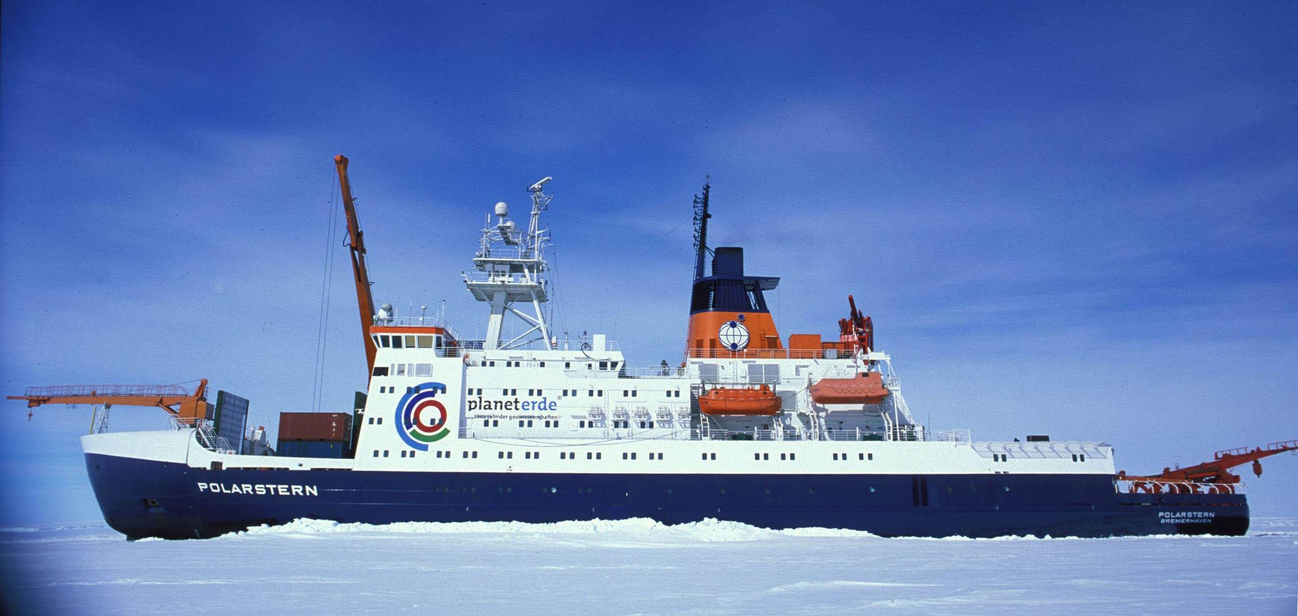 Le brise-glace allemand Polarstern démarre sa saison Antarctique