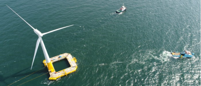 Projet de recherche franco-allemand sur l'#éolien flottant